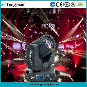 Gobo DMX IP20 200W luz de movimentação de LED para interior