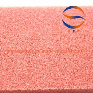 赤いカラー100kg/M3高力PVC泡のボード中国