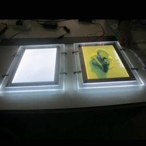 최고 호리호리한 LED 가벼운 상자 결정 LED 가벼운 상자