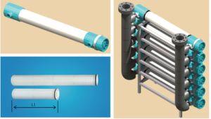 Пластиковый водяной фильтр горизонтального типа с высоким расходом