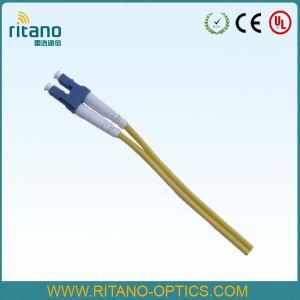 Mm 3,0 mm Duplex Pigtails de fibra óptica LC
