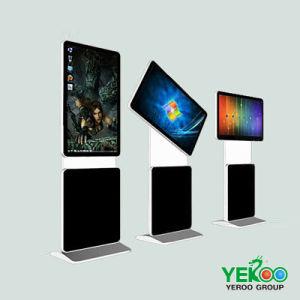 전시를 광고하는 실내 플러드 대 LCD 인조 인간 디지털 Singage