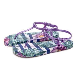 PE девочек благоухающем курорте обувь с цифровой фотопечати