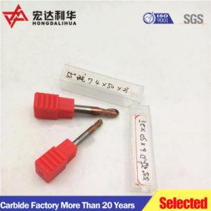 Il tornio del metallo lavora la taglierina di massima solida profonda di sinterizzazione del laminatoio della coda di rondine del laminatoio di estremità del carburo di CNC del Bush del raggio del bit di memoria dell'acciaio di tungsteno