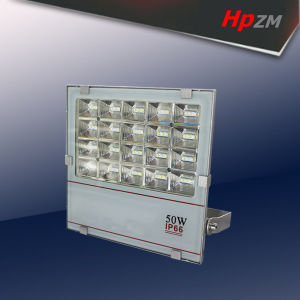 IP66ダイカストで形造るアルミニウム高い発電LEDの洪水ライト