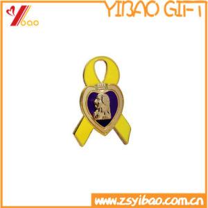 Speld van het Blad van de bevordering de Goud Geplateerde voor Giften (yb-mp-57)