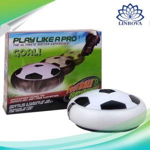 子供のための屋内屋外の浮遊LED音楽空気彷徨いのサッカーのフットボールのおもちゃ