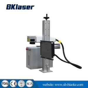 Macchina portatile da tavolino della marcatura del laser della fibra per strumentazione sanitaria