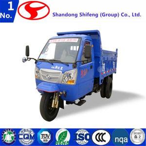 小屋の交通機関が付いている3荷車引きかロードは小屋が付いている500kg -3tons 3の荷車引きのダンプのためにまたは運ぶ