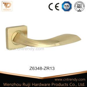내부 나무로 되는 문 (Z6050-ZR03)를 위한 로즈에 아연 합금 문 손잡이