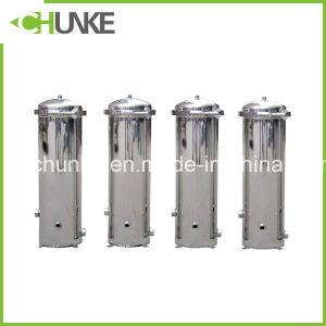 Filtro da acqua di gravità della cartuccia di filtro dai pp per il trattamento delle acque