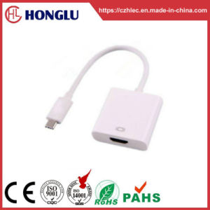 USB de type C mâle/convertisseur HDMI femelle