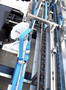 Автоматической коробки из гофрированного картона папки Gluer / складывание машины для склеивания картона (GK-1100Boxs GS)