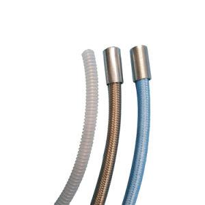 蒸気のホースのテフロン物質的で適用範囲が広いステンレス鋼のテフロン波形のホース