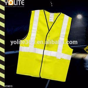 Chaleco reflectante, la ejecución de la protección chaleco, Chaleco reflectante amarillo
