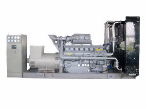 In het groot Stille Diesel 700kw Generator