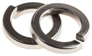 Ressort en acier inoxydable ordinaire la rondelle élastique