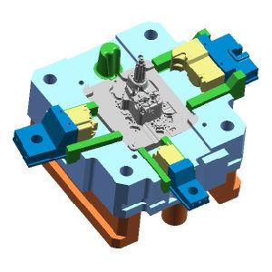 ダイカスト型のツール、型、鋳造物を