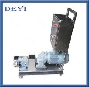 Acier inoxydable de qualité alimentaire liquide Lobe Step-Less sanitaire de la pompe rotative du rotor