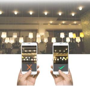 3W 350lm lâmpadas LED da Intensidade de Luz da Base de G9