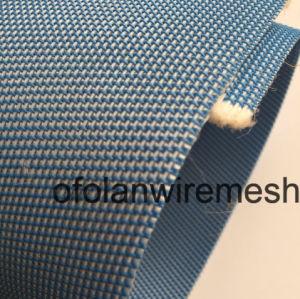 Dessulfuração do Pet azul pano do filtro de poliéster da correia do filtro de vácuo