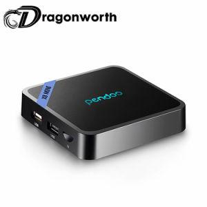 Amlogic S905W Pendoo X8 소형 S905W 1GB DDR3 8GB ROM 텔레비젼 상자 인조 인간 7.0 고정되는 최고 상자 Kodi 17.4 4K 인조 인간 텔레비젼 상자