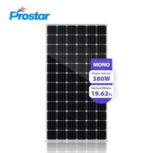 380W Mono Painel Solar 380 Wp personalizável diversos Smart padrão do painel fotovoltaico preço para o Sistema Solar Comercial Inicial