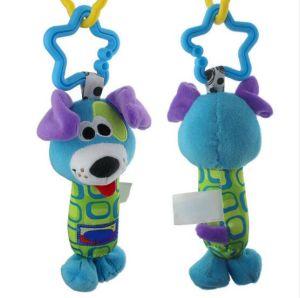 Tinkle di crepitio del bambino che appende i giocattoli multifunzionali del passeggiatore della peluche della Bell