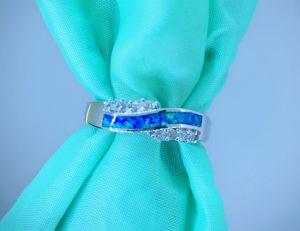 La alta calidad 925 plata Anillo de joyería ópalo