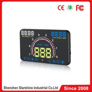 5.8 Sistema de alerta de velocidad coche OBD II Head Up Display