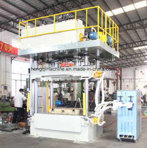 カーボンファイバーのための熱の出版物の鍛造材機械