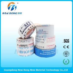En polyéthylène de couleur blanc crème des films de protection pour partie en aluminium
