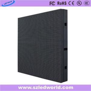 Couleur intérieure Affichage LED fixe l'écran du panneau d'administration de la publicité en usine (P3, P4, P5, P6)