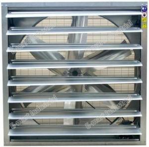 Ventilatore di scarico industriale, ventilatore di flusso assiale, ventilatore di ventilazione 1220mm