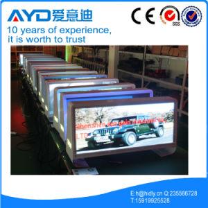 P564192Taxi RGB LED de techo firmar