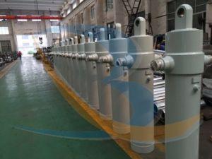 Cilindro hidráulico telescópico de ação única para Reboque
