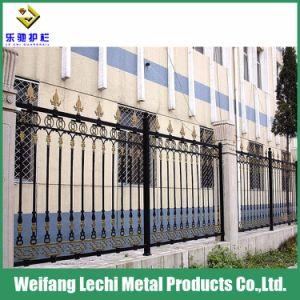 Clôture de fer décoratif de sécurité personnalisés pour le résidentiel de clôture de jardin en acier Maison/la pelouse/Park/aire de jeux /Yard/Factory