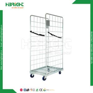 Hochleistungslager-faltbare Metallrollenbehälter-Laufkatze
