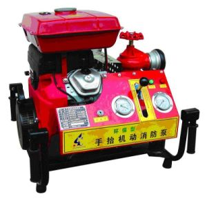 25HPホンダPortable Gasoline Fire Fighting Pump