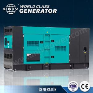 250kVA Cummins 침묵하는 전기 디젤 엔진 발전기 (UC200E)