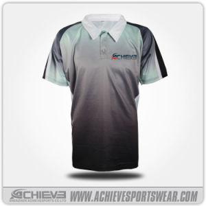 Camicia 100% di polo calda delle donne delle magliette dei ragazzi del poliestere di vendite