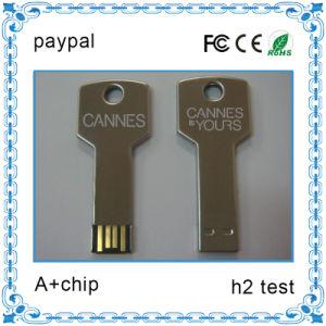 Logo PrintのMini流行のKey Shape USB Flash Drive
