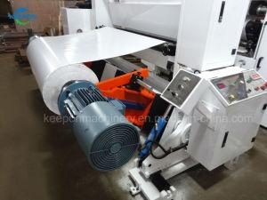 Trancheuse rembobineur Haut Débit pour rouleau Jumbo Duplex, auto-adhésif, étiquette, autocollant, de papier, film plastique (ILQ-A)