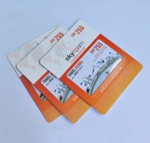 印刷のイベントのカード、PVC印刷をする名刺
