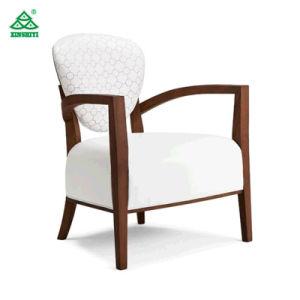 Tejido confortable mobiliario de madera como cojín de sofá