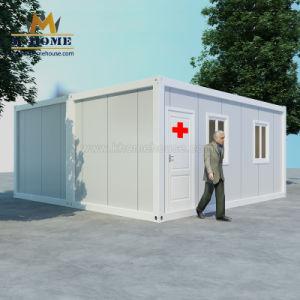 Les cliniques médicales conteneur portatif d'urgence Chambre pour la France