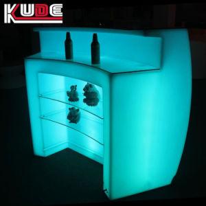 Geleuchteter LED Stab-Gegenkostenzähler des runder Stab-glühender Stab-Nachtklub