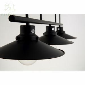 Lâmpada Pendente Vintage Luz da polia de ferro Bar Restaurante Lustre Inicial