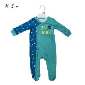Comercio al por mayor nueva llegar Onesie algodón orgánico bebé ropa de bebé