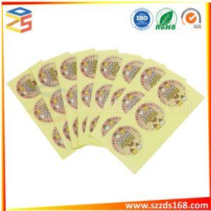 Kundenspezifischer gedruckter anhaftender Aufkleber-Kennsatz, kundenspezifisches Aufkleber-Drucken